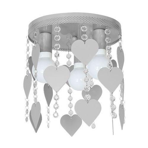 Decoland Lampa dziecięca elza hearts 3xe27/60w/230v (5902693746263)