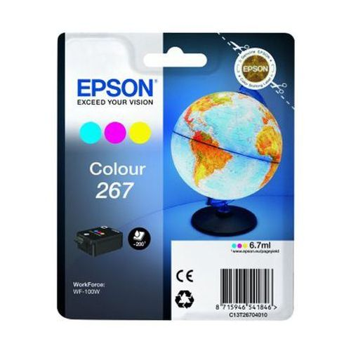 oryginalny atrament Epson 267 [C13T26704010] color ()
