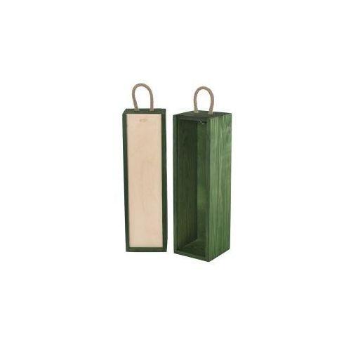 V1 skrzynka upominkowa zielona/naturalna, V-1/15S