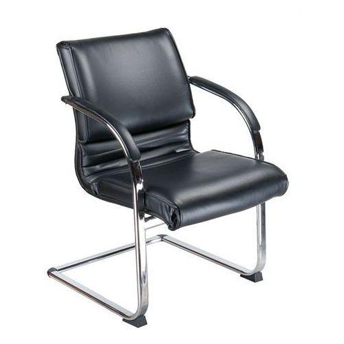 Fotel konferencyjny bx-3339b czarny marki Corpocomfort