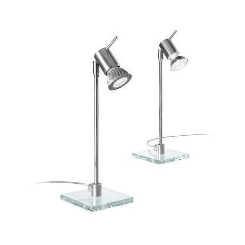Linea light Lampa stołowa spotty aluminium 1x40w żarówka led gratis!, 1157