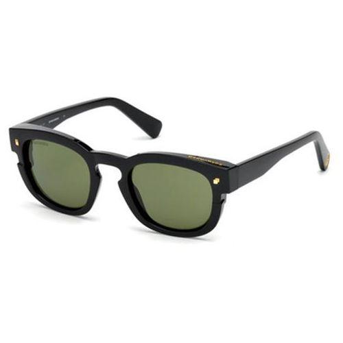 Okulary Słoneczne Dsquared2 DQ0268 New Andy 01N, kolor żółty