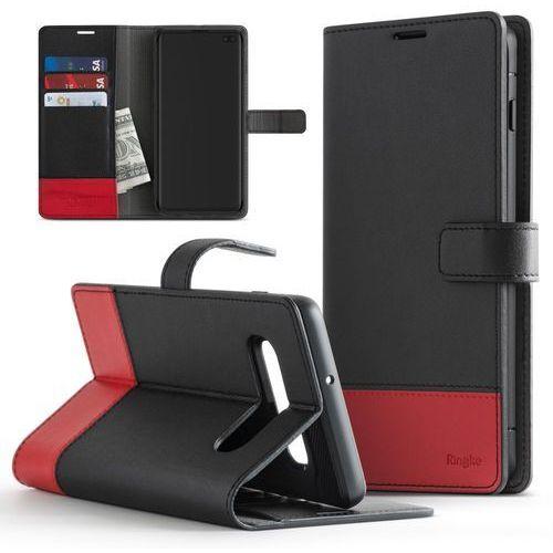 wallet skórzany pokrowiec 2w1 portfel + etui na telefon samsung galaxy s10 czarny ((wlsg0011-rpkg)) marki Ringke