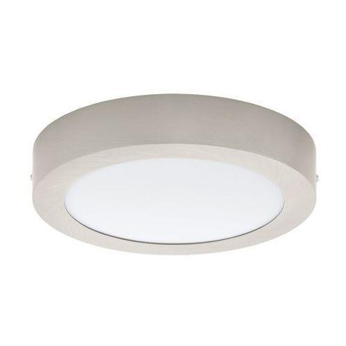 Plafon Eglo Fueva 32442 lampa sufitowa 1 1x18W LED nikiel/biały, kolor Biały
