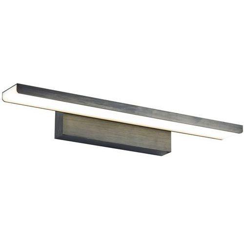 Lampa ścienna LED z akrylowym dyfuzorem 41 cm Gleam Maytoni czarna (MIR005WL-L16B)