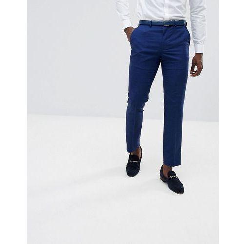 Burton Menswear Slim Fit Suit Trousers In Bright Blue - Blue