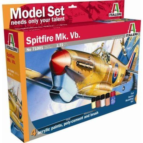 Italeri italeri model set 'home play' spitfire