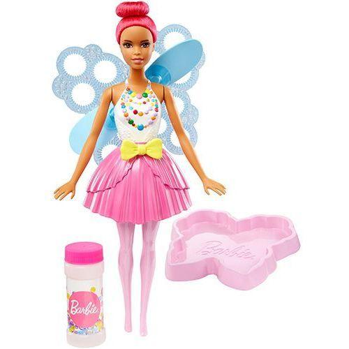 Barbie  dvm96 ciemnoróżowa bąbelkowa wróżka lalka 3+ | darmowa dostawa od 150 zł!