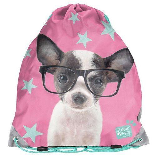 Paso Worek na buty studio pets chihuahua w okularach