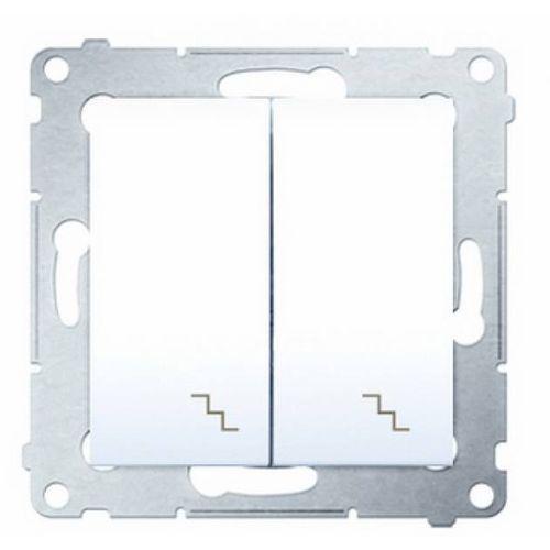 Kontakt simon 54 wyłącznik schodowy podwójny (5902787822552)