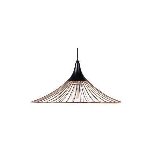 Lampa wisząca metalowa miedziana GIONA