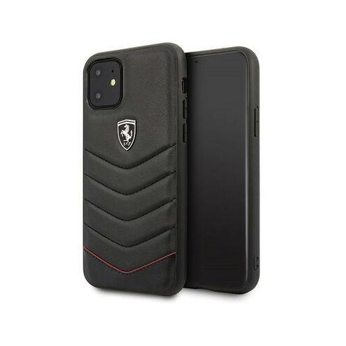 hardcase fehquhcn61bk iphone 11 czarny/black - czarny marki Ferrari