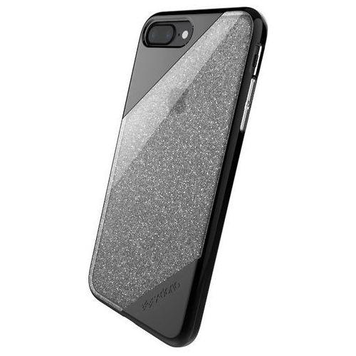 X-Doria Revel Lux - Etui iPhone 7 Plus (Black Gradient Glitter) (6950941457651)