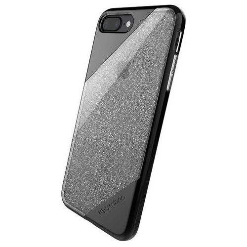 X-Doria Revel Lux - Etui iPhone 7 Plus (Black Gradient Glitter), kolor czarny
