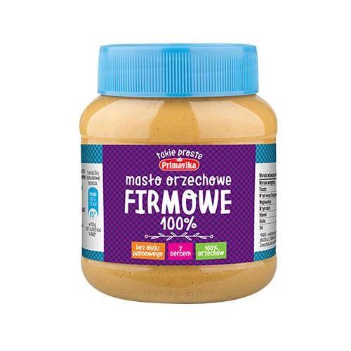Primavika masło orzechowe firmowe - 350g - smooth (5900672302127)