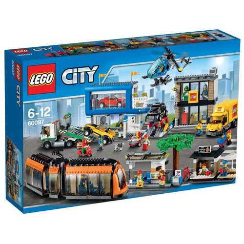 60097 PLAC MIEJSKI City Square KLOCKI LEGO CITY