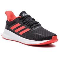 Buty - runfalcon g28910 cblack/actred/cblack, Adidas, 44-48