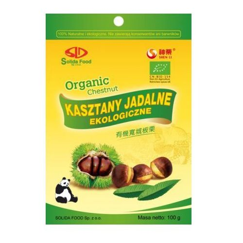 KASZTANY JADALNE (GOTOWANE) BIO 100 g - SOLIDA FOOD, kup u jednego z partnerów