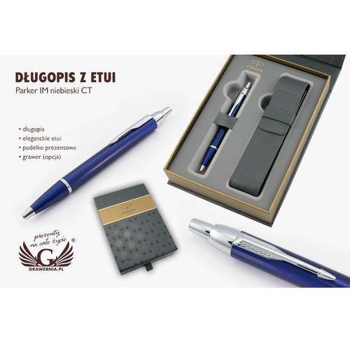 Długopis PARKER IM niebieski CT z etui - PAR071-SW6