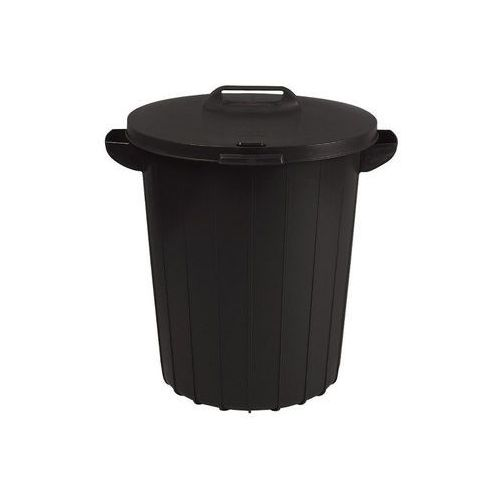 Kosz na odpady 90L Curver czarny