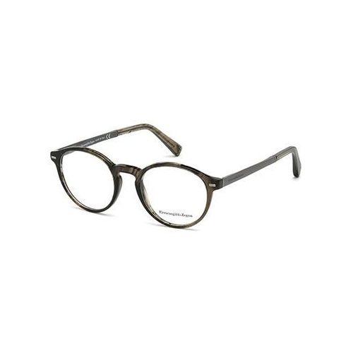 Okulary Korekcyjne Ermenegildo Zegna EZ5061 051 z kategorii Okulary korekcyjne