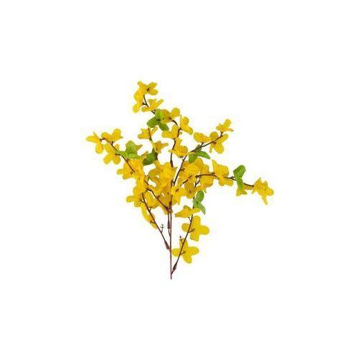 Hanmar Sztuczna gałązka forsycja żółta 55 cm