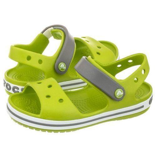 Crocs Sandałki crocband sandal kids volt green 12856-3k9 (cr39-f)