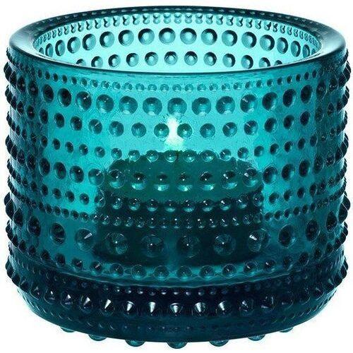 Kastehelmi świecznik na tealight, morski - Iittala