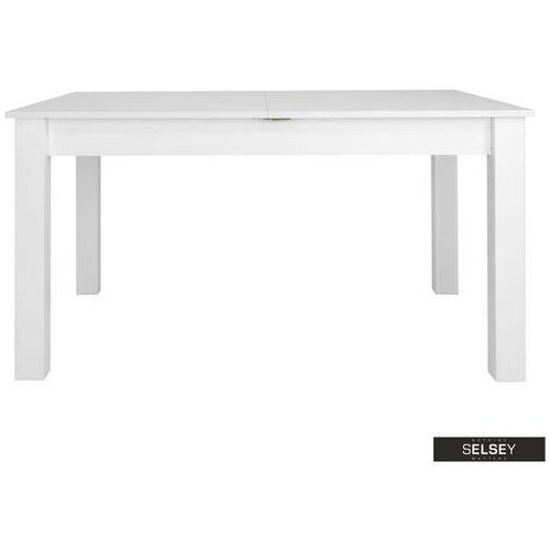 Selsey stół rozkładany eagor 140-190x84 cm biel alpejska