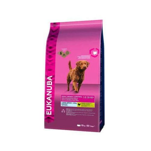 Eukanuba adult large breed weight control 3kg - 3kg (8710255121895)