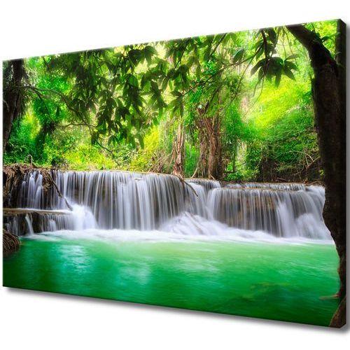 Obraz na Płótnie Tajlandia wodospad w Kanjanaburi