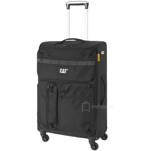cube combat visiflash średnia walizka na kółkach 67 cm cat / czarna marki Caterpillar