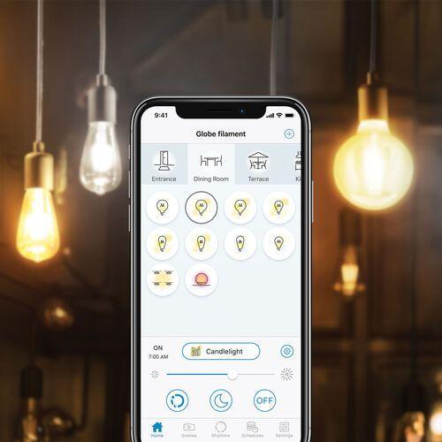WiZ E27 LED ST64 filament 6,5W 2 200-5 500 K (4897104950883)