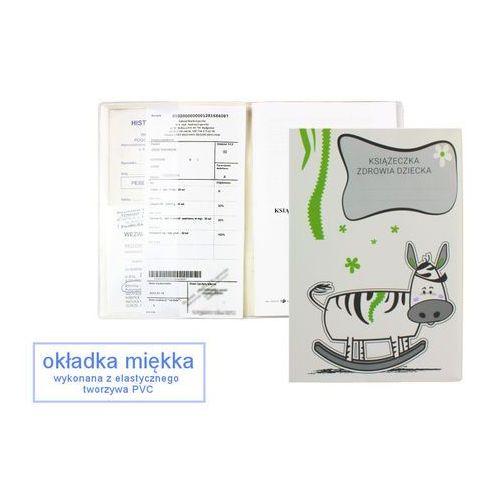 Biurfol Okładka etui na książeczkę zdrowia dziecka, pvc - 4-krówka na biegunach (2501234504411)