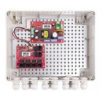 -ip4/z/e-s zestaw zasilania dla 4 kamer ip - switch poe i obudowa zewnętrzna bcs marki Bcs