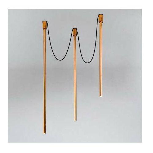 Shilo Lampa sufitowa alha y 9332 metalowa oprawa downlight sople tuby miedź (5903689993326)