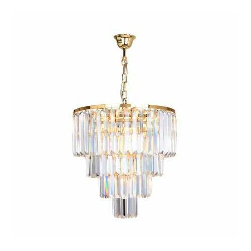 Zuma line 17106/4+1-gld amedeo lampa wisząca złota/gold, 17106/4+1-gld