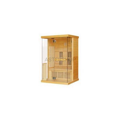 LUNA Sauna na podczerwień 2 osobowa 123,6x103,6x200cm H30330