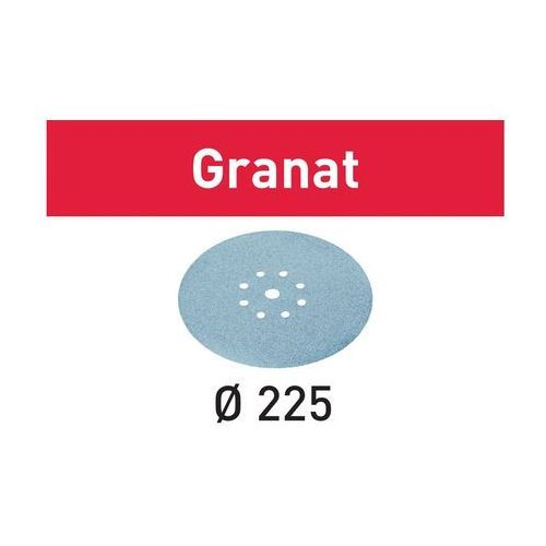 Festool krążki ścierne stf d225/9 p80 gr/25; 499636 - 25 sztuk
