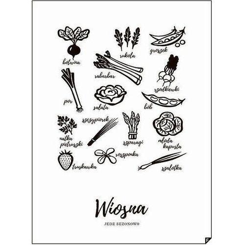 Plakat Wiosna - Jedz sezonowo 21 x 30 cm, WIOSNA-2130