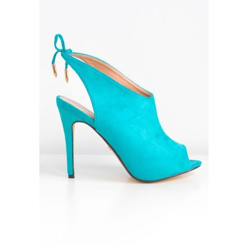 Sandały botki peep toe, Zoio