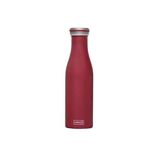- butelka termiczna, 0,50 l, bordowa - bordowy marki Lurch