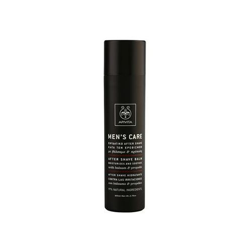 Apivita  men's care balsam & propolis balsam po goleniu (moisturizes and soothes) 100 ml (5201279008000)