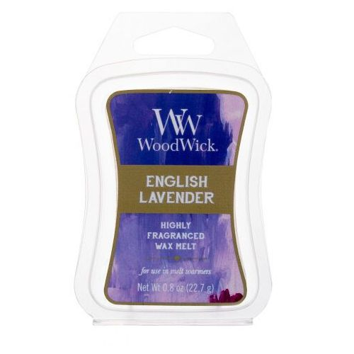Woodwick english lavender zapachowy wosk 22,7 g unisex (5038581056111)