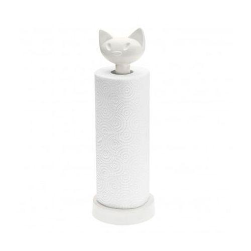 Stojak na ręcznik papierowy MIAOU biały Koziol, 5225525