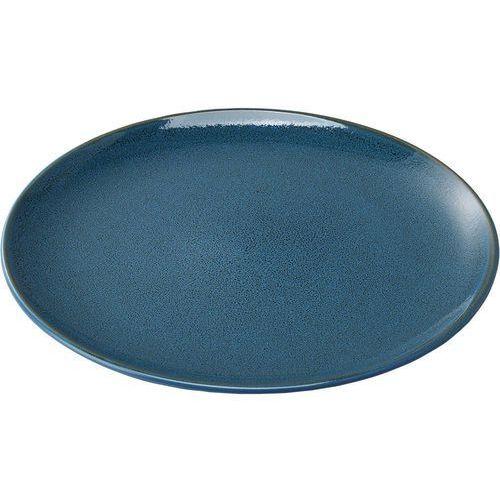 Talerz płytki porcelanowy - niebieski