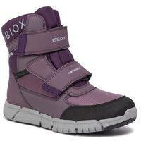 Geox Śniegowce - b flexyper g.b abx a j94apa 0fu54 c8ug8 d lt prune/purple