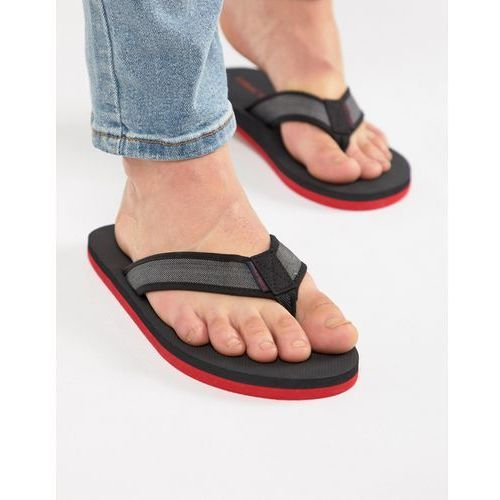 comfort flip flops - black, Jack & jones