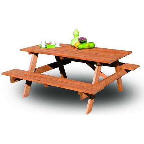 meble ogrodowe piknik 180 cm marki Rojaplast