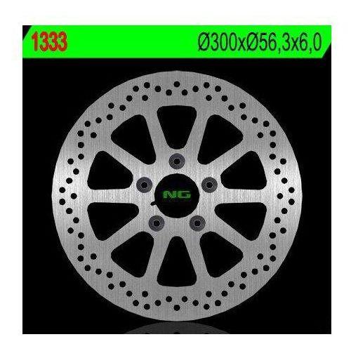 1333 tarcza hamulcowa harley davidson 1450/1584/1690/1800 (300x56,3x6) (5x10,5mm) marki Ng